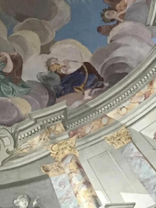 Dreifaltigkeitskirche Waltershausen Deckendetail