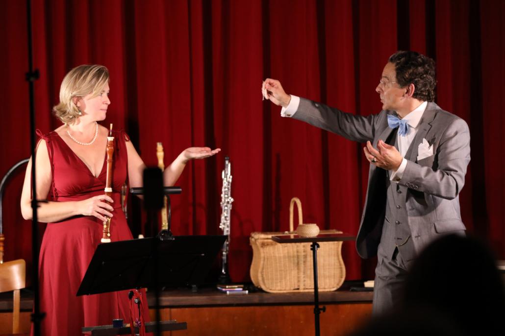 Das sprechende Konzert – Stefan Alexander Rautenberg, Jeanine Krause