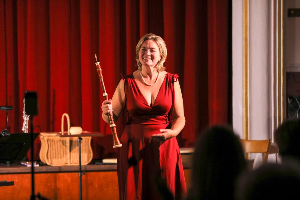 Jeanine Krause Baroque Oboe : Das Sprechende Konzert