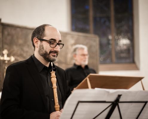 The Sprightly Companions Antonello Cola oboe