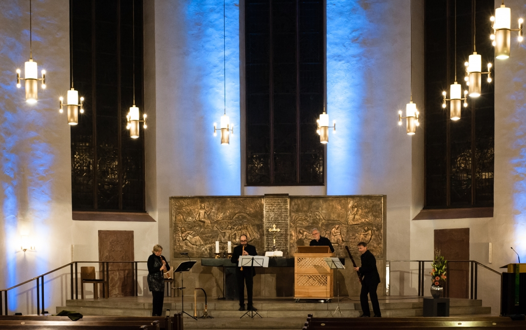 The Sprightly Companions Bach zur Nacht